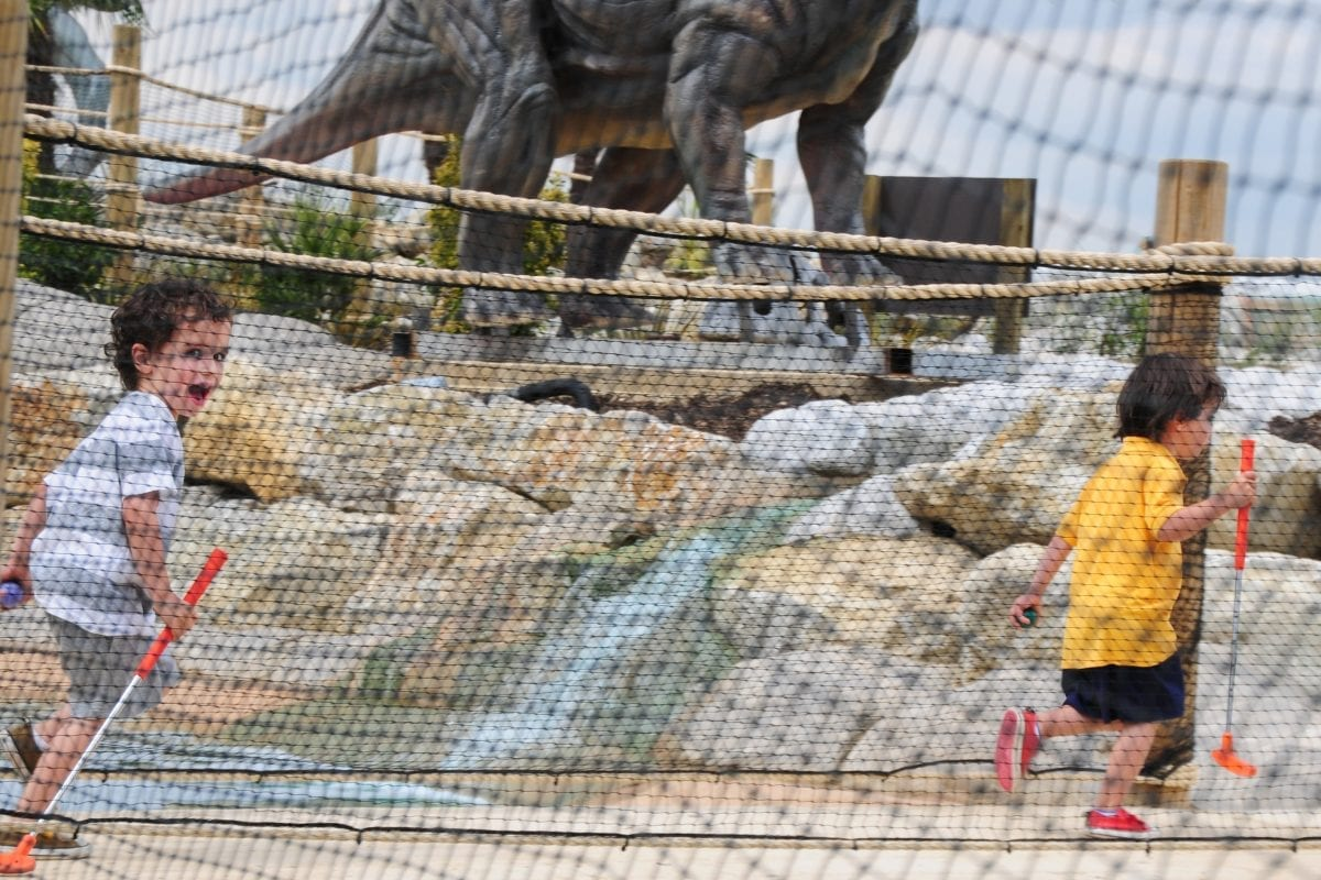 Dinosaur Safari Adventure Golf – Changes we've made for you