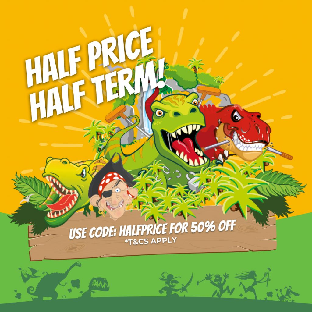 Half Price Half Term Offer!